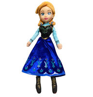 Disney Frozen Princess Anna Vinyl Head Soft Plush Doll Toy 37cm
