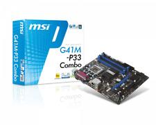 MSI G41M-P33 Combo, LGA 775/Socket T, Intel Motherboard
