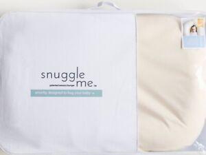 Snuggle Me Lounger Baby Organic Snuggle Pillow USA+ BONUS Baby Wrap