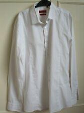 Mens Hugo Boss White Shirt Size M Slim Fit