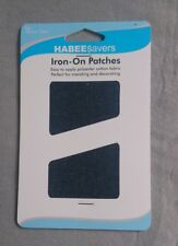 Iron on patches for Denim 10 by 15 cm 2 pack
