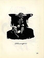 Die deutsche Künstlerin Käthe Kollwitz Hunger/ Helft Russland Histor.Grafik 1930