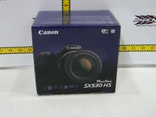 Canon PowerShot SX530 HS (9779B001) 16.0MP Digital Camera – Black (with case)