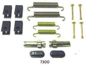 Parking Brake Hardware Kit Rear Better Brake 7300