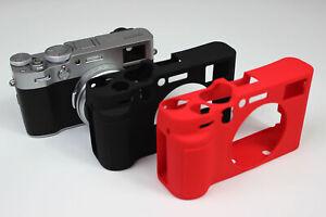 Camera Soft Silicone Skin Case Bag Cover for FUJIFILM FUJI Finepix X100V