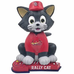St. Louis Cardinals Rally Cat Red Jersey Bobblehead MLB