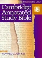 Cambridge Annotated Study Bible [New Revised Standard Version] by Hardcover