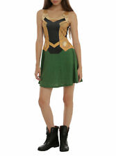 Her Universe Marvel Loki costume Dress (2XL) Plus Size