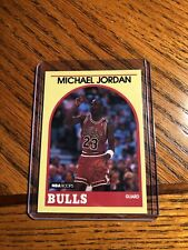 1989-90 NBA Hoops Yellow Michael Jordan #12 Chicago Bulls Sharp Corners!
