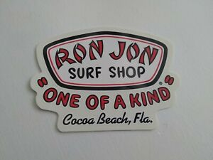 Ron Jon Surf Shop Cocoa Beach One Of A Kind Sticker/Decal