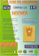 MFHV29 - 8 SACCHI HOOVER SERIE MICROPOWER SC 100 115 120 125