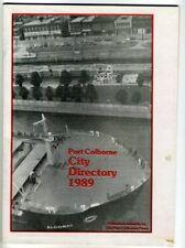 PORT COLBORNE CITY DIRECTORY 1989 Port Colborne News Local Directory Businesses