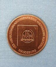 Münze Medaille Hermann Matern SELTEN, BRONZE, Silber VEB Werkzeugmaschinenfabrik