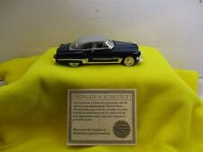 1/32 SCALE NATIONAL MOTOR MUSEUM MINT 1949 CADILLAC SERIES 62 HARDTOP