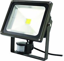 Westgate LED Flood Lights w/ PIR Motion Sensor LF-50NW-P 4000K