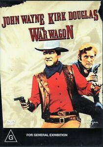 JOHN WAYNE - WAR WAGON. Kirk Douglas. R4 DVD