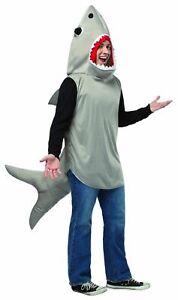 Man Eater Sand Shark Sea Animal Jaws Costume Adult Standard Rasta Imposta