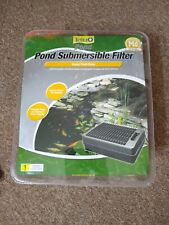 TetraPond Submersible Flat Box Filter For Ponds Up To 500 Gallon NIB