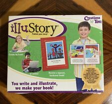New Illustory Make-A-Book Kit Publish Create Illustrate Write Your Own Book