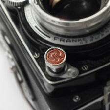 Exquisite Made - Metal and Leather Soft Shutter Button (Brown) - Rolleiflex