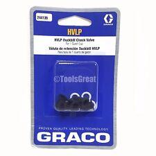 Graco HVLP 244135 Duckbill Check Valve Repair Kit for Graco HVLP EDGE II Gun