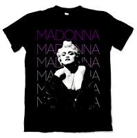 Madonna True Blue Inspired Black Men M - 2XL T-Shirt K021