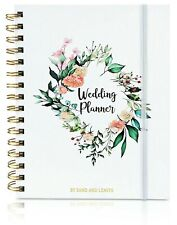 Elegant Wedding Planner with Pockets, Stickers, and Gift Box - Hardcover
