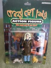 Crazy Cat Lady Action Figure Set Accoutrements