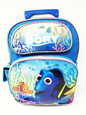 "Disney Finding Dory 16"" Large Roller Backpack Trolley. Authentic Brand New."