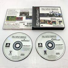 New listing Final Fantasy Chronicles: Final Fantasy Iv & Chrono Trigger (PlayStation 1, Ps1)