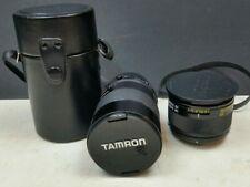 Tamron Adaptall 2 1:2.5 135mm Lens & SP BBAR MC 2X Teleconverter Vintage Job Lot