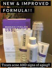 Rodan + and Fields UNBLEMISH REGIMEN New & Improved now w/ Anti-aging Benefits!!