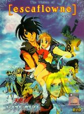 DVD Anime The Vision of Escaflowne Complete TV Series 1-26 End English Dub R0