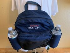 Vintage 90s JanSport Fanny Pack Waist Pouch Made In USA Navy Blue