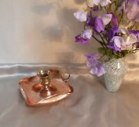 Antique Edwardian Arts and Crafts Copper and Brass Candlestick-Early 20th Centur