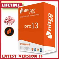 Nitro Pro 13 PDF Enterprise 2021 ✅ Editor ✅ Creator ✅ Reader ✅ View ✅ Converter