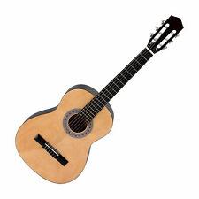 Guitare Classique 3/4 pour Enfants Débutants Acoustique Bois Érable Naturel