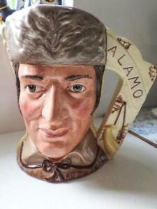 Royal Doulton Toby Jug The Antagonists - Alamo - Dble Head L/Ed 2066/9500 1984