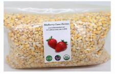New listing Whole Yellow Corn 5 Pounds, Usda Certified Organic, Non-Gmo, Product of Usa
