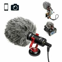 BOYA BY-MM1 Microphone for DSLR Camera Android IOS Mobile Smartphone Camcorder