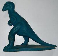 VINTAGE 1960s Dinosaur SINCLAIR DINOLAND Mold-A-Rama TRACHODON Blue Green Wax