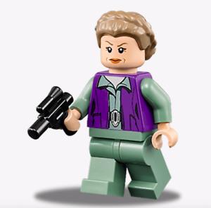 LEGO Star Wars Minifigure General Leia & Blaster 75140 **New**