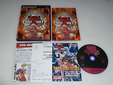 PLAYSTATION 2 JAPAN IMPORT GAME GUILTY GEAR X PLUS COMPLETE W MANUAL ARC SAMMY >