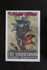 Modest Mouse 2003 Tour Poster The Troubadour