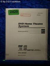 Sony Bedienungsanleitung DAV SB300 Compact AV System (#2420)