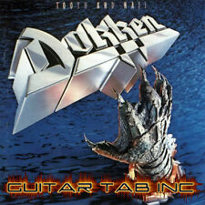Dokken Digital Guitar Tab TOOTH AND NAIL Lessons on Disc George Lynch