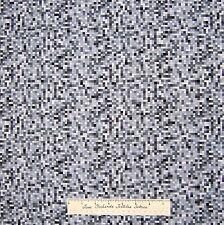 "Square Fabric - Gray Black White by Fun@Hart - Free Spirit LAST 34"""
