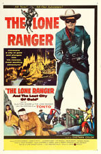 "Lone Ranger and the Lost City of Gold Movie Poster Replica 13x19"" Photo Print"