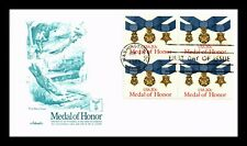 DR JIM STAMPS US MEDAL OF HONOR ARTMASTER FIRST DAY COVER BLOCK