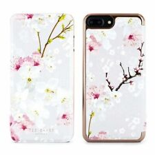 OFFICIAL Ted Baker AMMAA Mirror Folio iPhone 8 Plus Case Oriental Blossom